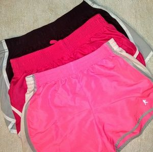 3 WORKOUT SHORTS.
